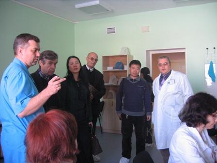 Визит делегации Харбинского медицинского университета фотография 04
