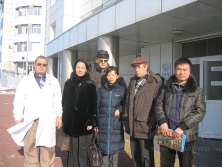 Визит делегации Харбинского медицинского университета фотография 02