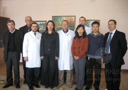 Визит делегации Харбинского медицинского университета фотография 01