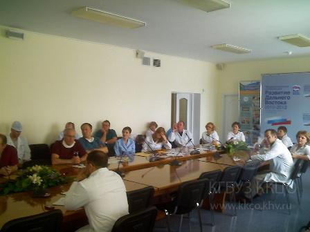 Заседание Хабаровского онкологического общества 28.02.2011г.