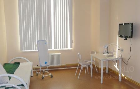 Специальная палата для лечения активным йодом